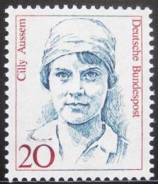 Poštovní známka Nìmecko 1988 Cilly Aussem, tenistka Mi# 1365