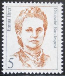 Poštovní známka Nìmecko 1989 Emma Ihrer, politièka Mi# 1405