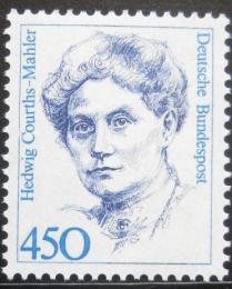Poštovní známka Nìmecko 1992 H. Courts-Mahler, spisovatelka Mi# 1614