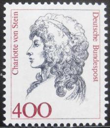 Poštovní známka Nìmecko 1992 Charlotte von Stein, pøítelkynì Goetheho Mi# 1582