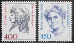 Poštovní známky Nìmecko 1992 Slavné ženy, roèník Kat 12.50€
