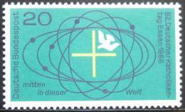 Poštovní známka Nìmecko 1968 Setkání nìmeckých katolíkù Mi# 568
