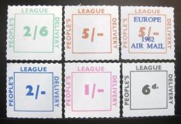 Poštovní známky Velká Británie 1962 People