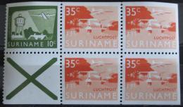 Poštovní známky Surinam 1976 Letadla, ze sešitku, Kat 11.70€