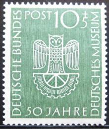Poštovní známka Nìmecko 1953 Muzeum v Mnichovì Mi# 163 Kat 30€