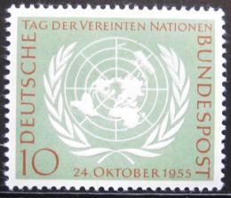 Poštovní známka Nìmecko 1955 Den OSN Mi# 221