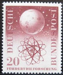 Poštovní známka Nìmecko 1955 Vìdecký výzkum Mi# 214 Kat 12€
