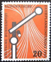 Poštovní známka Nìmecko 1955 Železnièní signál Mi# 219 Kat 10€