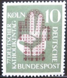 Poštovní známka Nìmecko 1956 Setkání katolíkù Mi# 239