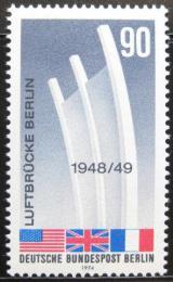 Poštovní známka Západní Berlín 1974 Memoriál letectva Mi# 466