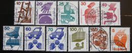 Poštovní známky Nìmecko 1971-74 Prevence nehod komplet