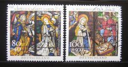 Poštovní známky Nìmecko 1995 Vánoce Mi# 1831-32