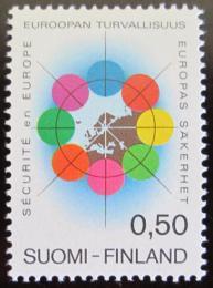 Poštovní známka Finsko 1972 Konference o bezpeènosti Mi# 715
