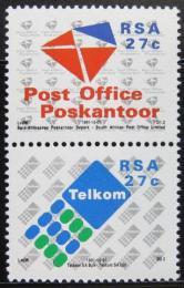 Poštovní známky JAR 1991 Vytvoøení jihoafrické pošty Mi# 823-24
