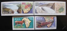Poštovní známky JAR 1990 Spolupráce v jižní Africe Mi# 789-92