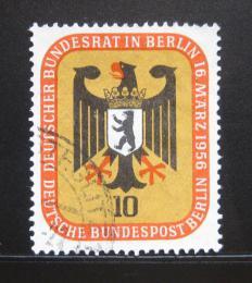 Poštovní známka Západní Berlín 1956 Znak Berlína Mi# 136 - zvětšit obrázek