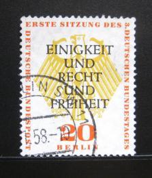 Poštovní známka Západní Berlín 1957 Nìmecká rada Mi# 175