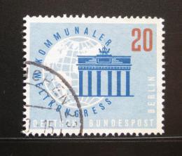 Poštovní známka Západní Berlín 1959 Brandenburská brána Mi# 189