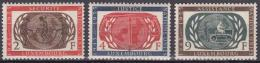 Poštovní známky Lucembursko 1955 OSN, 10. výroèí Mi# 538-40 11.20€
