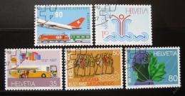 Poštovní známky Švýcarsko 1987 Výroèí a události Mi# 1335-39