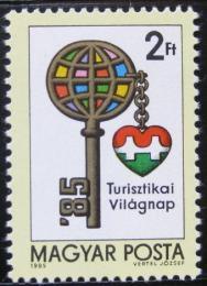 Poštovní známka Maïarsko 1985 Svìtový den turistiky Mi# 3780