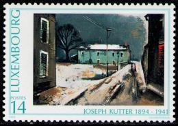 Poštovní známka Lucembursko 1994 Umìní, Josef Kutter Mi# 1338