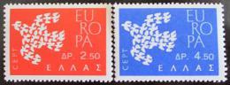Poštovní známky Øecko 1961 Evropa CEPT Mi# 775-76
