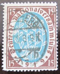 Poštovní známka Nìmecko 1919 Národní shromáždìní Mi# 108