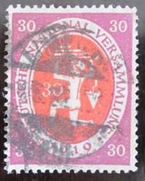 Poštovní známka Nìmecko 1920 Národní shromáždìní Mi# 110