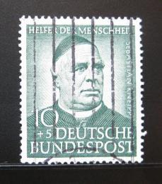 Poštovní známka Nìmecko 1953 Sebastian Kneipp Mi# 174