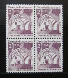 Poštovní známky Nìmecko 1966 Lowenberg, ètyøblok Mi# 503
