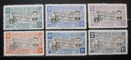 Poštovní známky Bolívie 1946 Státní hymna Mi# 394-99
