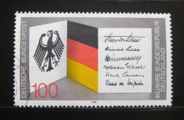 Poštovní známka Nìmecko 1989 Výroèí vzniku republiky Mi# 1421