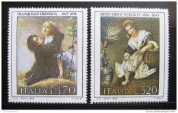 Poštovní známky Itálie 1978 Umìní Mi# 1621-22