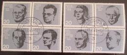Poštovní známky Nìmecko 1964 Osobnosti Mi# 431-38 Kat 12€