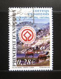 Poštovní známka Andorra Šp. 2005 Dìdictví UNESCO Mi# 322