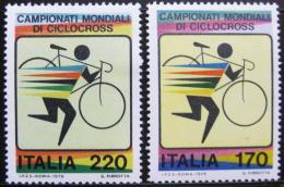Poštovní známky Itálie 1979 MS v cyklokrosu Mi# 1639-40