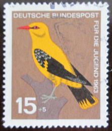 Poštovní známka Nìmecko 1963 Pták Mi# 402