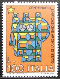 Poštovní známka Itálie 1975 Státní archív Mi# 1503