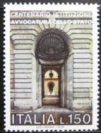 Poštovní známka Itálie 1976 Státní advokátní kanceláø Mi# 1521