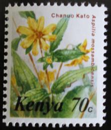 Poštovní známka Keòa 1983 Kvìtiny,ze sešitku Mi# 245