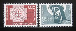 Poštovní známky Finsko 1963 Federace luteránù Mi# 573-74