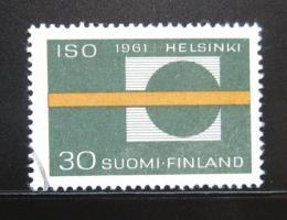 Poštovní známka Finsko 1961 Schùze ISO Mi# 535