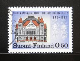Poštovní známka Finsko 1972 Národní divadlo Mi# 702