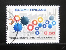 Poštovní známka Finsko 1971 Finský prùmysl Mi# 685
