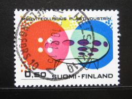 Poštovní známka Finsko 1971 Výroba plastù Mi# 697
