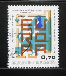 Poštovní známka Finsko 1973 Konference bezpeènosti Mi# 726