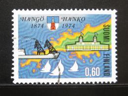 Poštovní známka Finsko 1974 Hanko, 100. výroèí Mi# 743