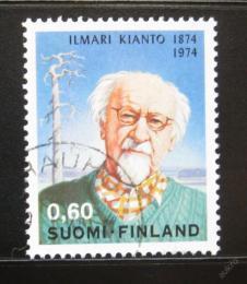 Poštovní známka Finsko 1974 Ilmari Kianto, spisovatel Mi# 750