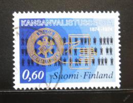Poštovní známka Finsko 1974 Vzdìlávání dospìlých Mi# 751